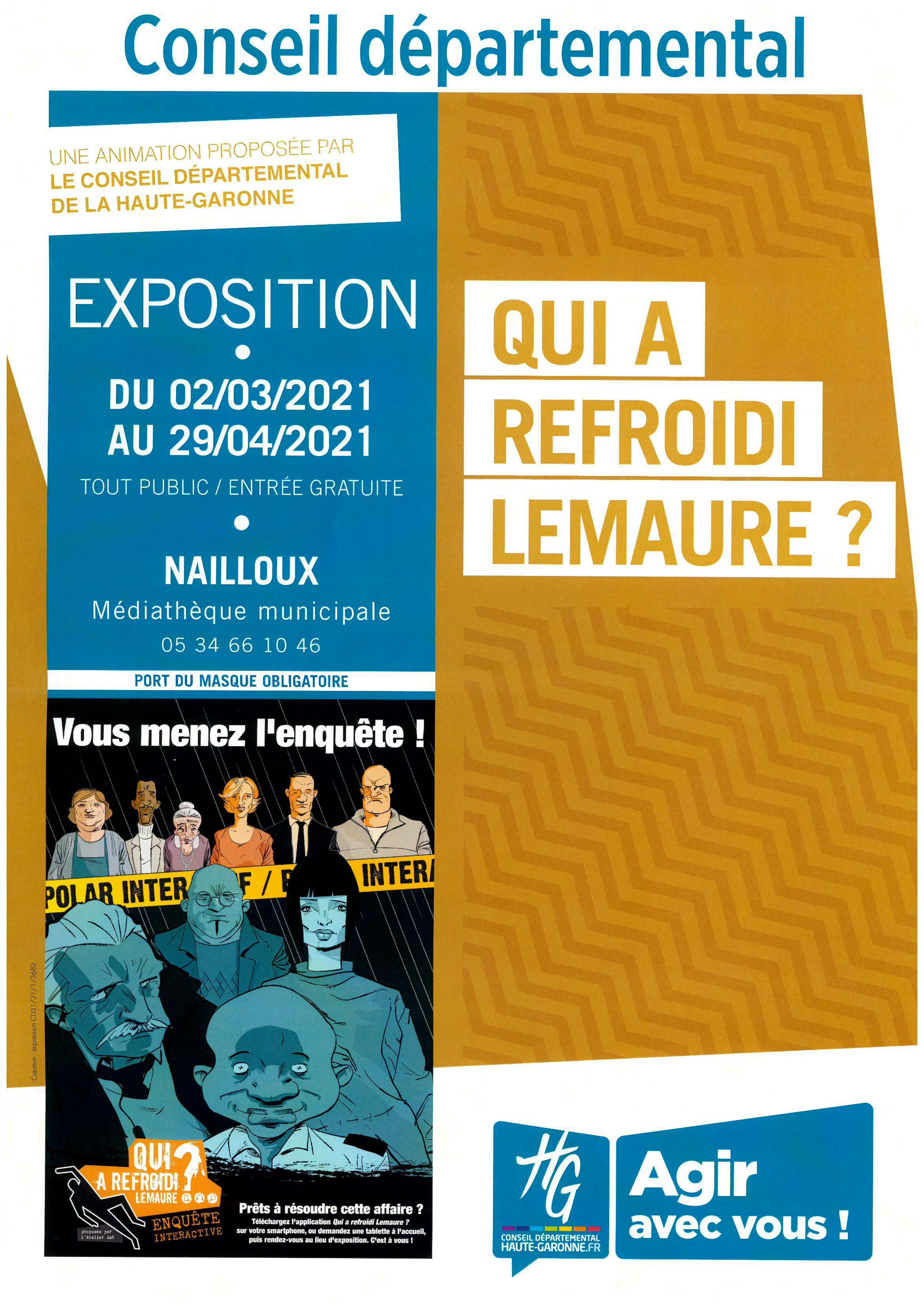 Qui a refroidi Lemaure ? - Médiathèque Départementale de la Haute-Garonne