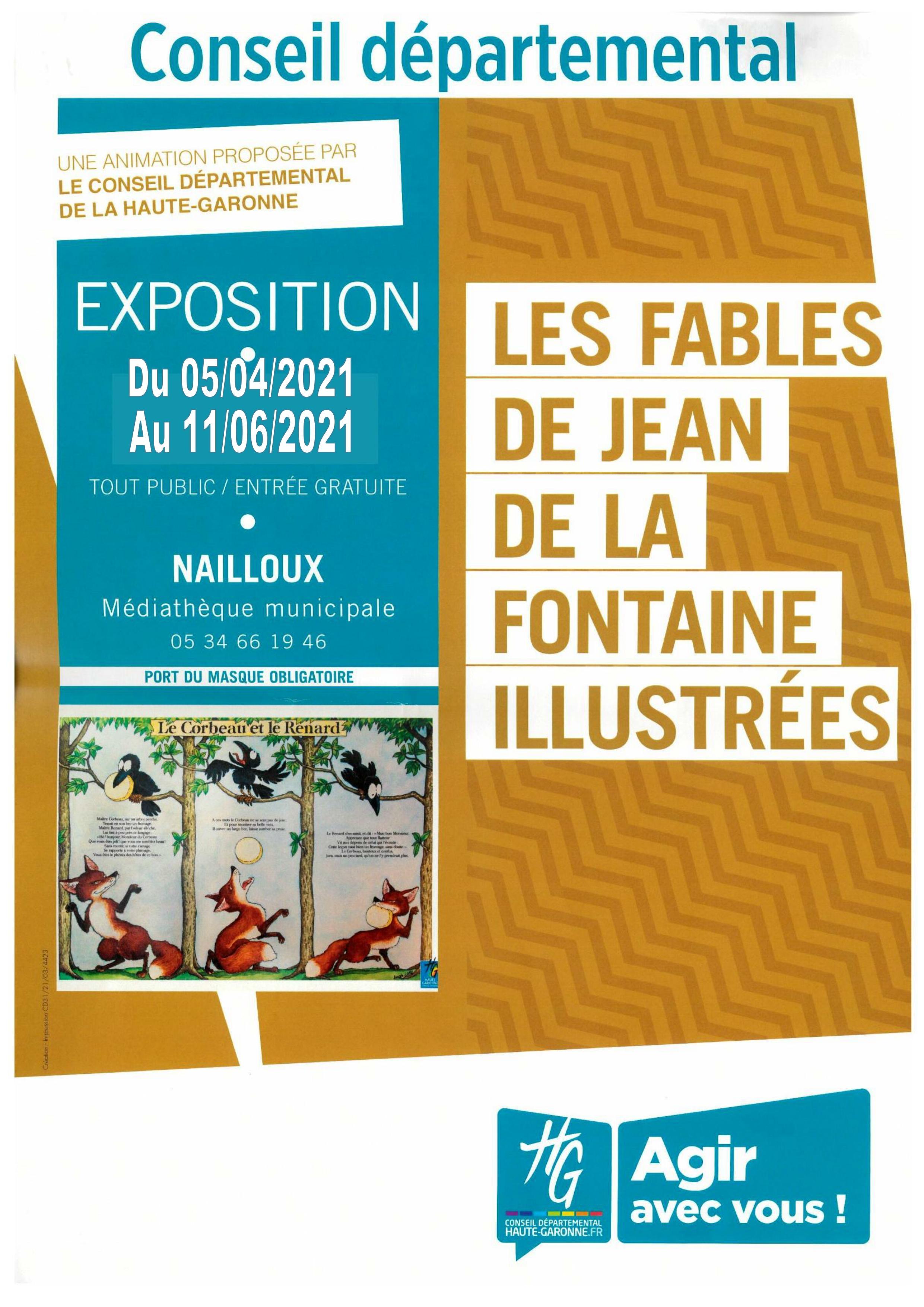 Les fables de Jean de la Fontaine - Médiathèque Départementale de la Haute-Garonne