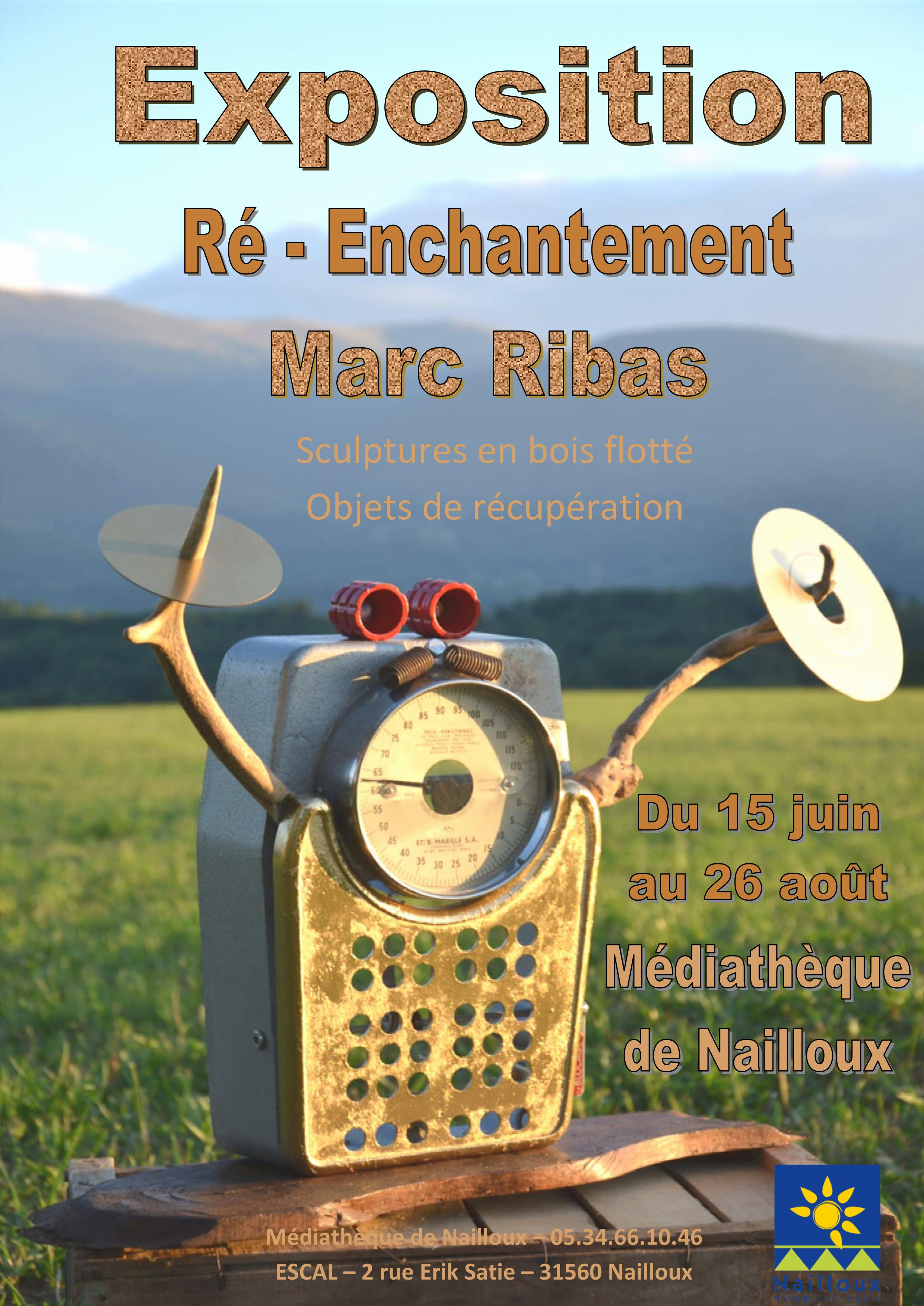 Ré-Enchantement - Marc Ribas.