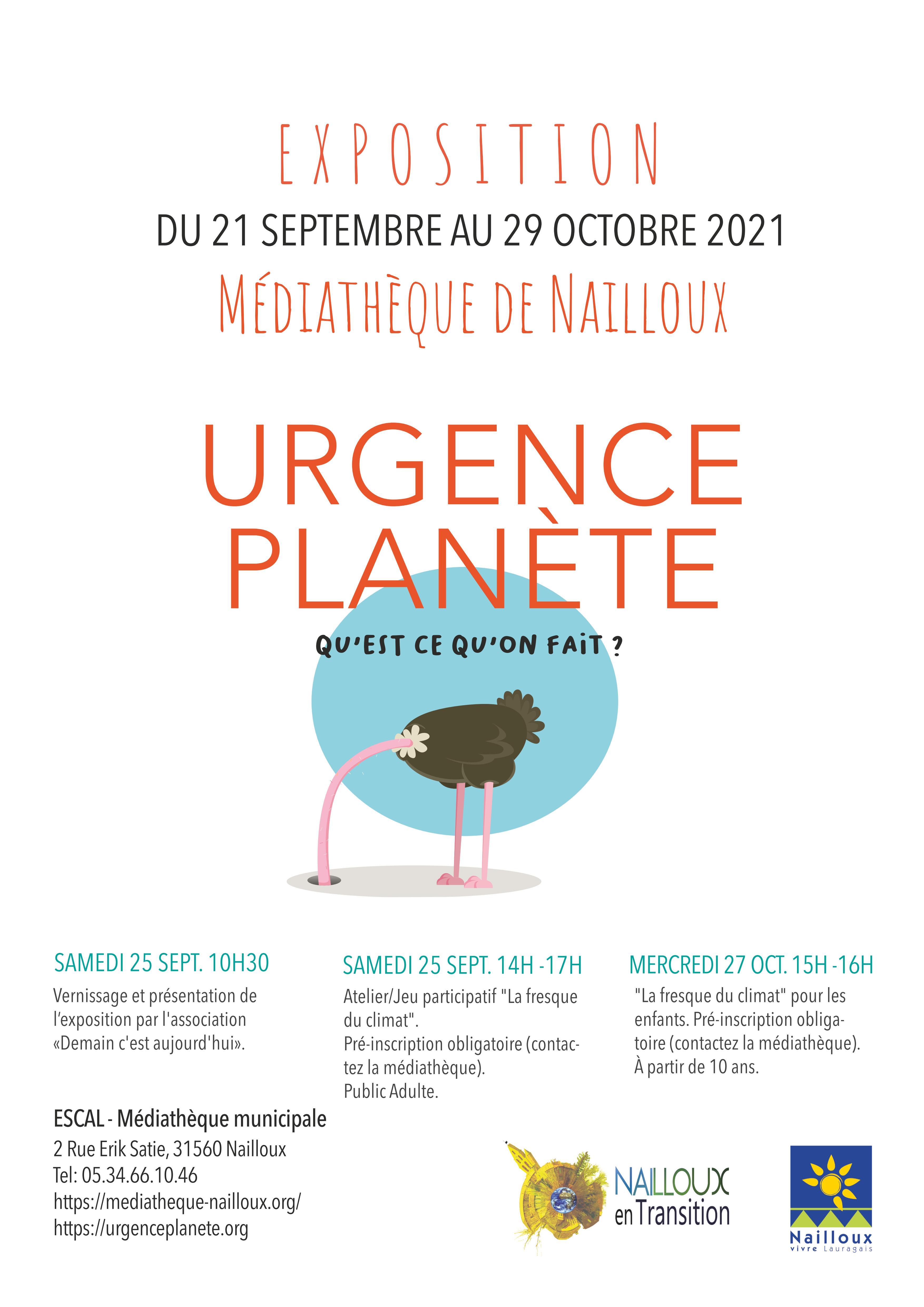 Urgence planète - Une expo sur l'urgence écologique