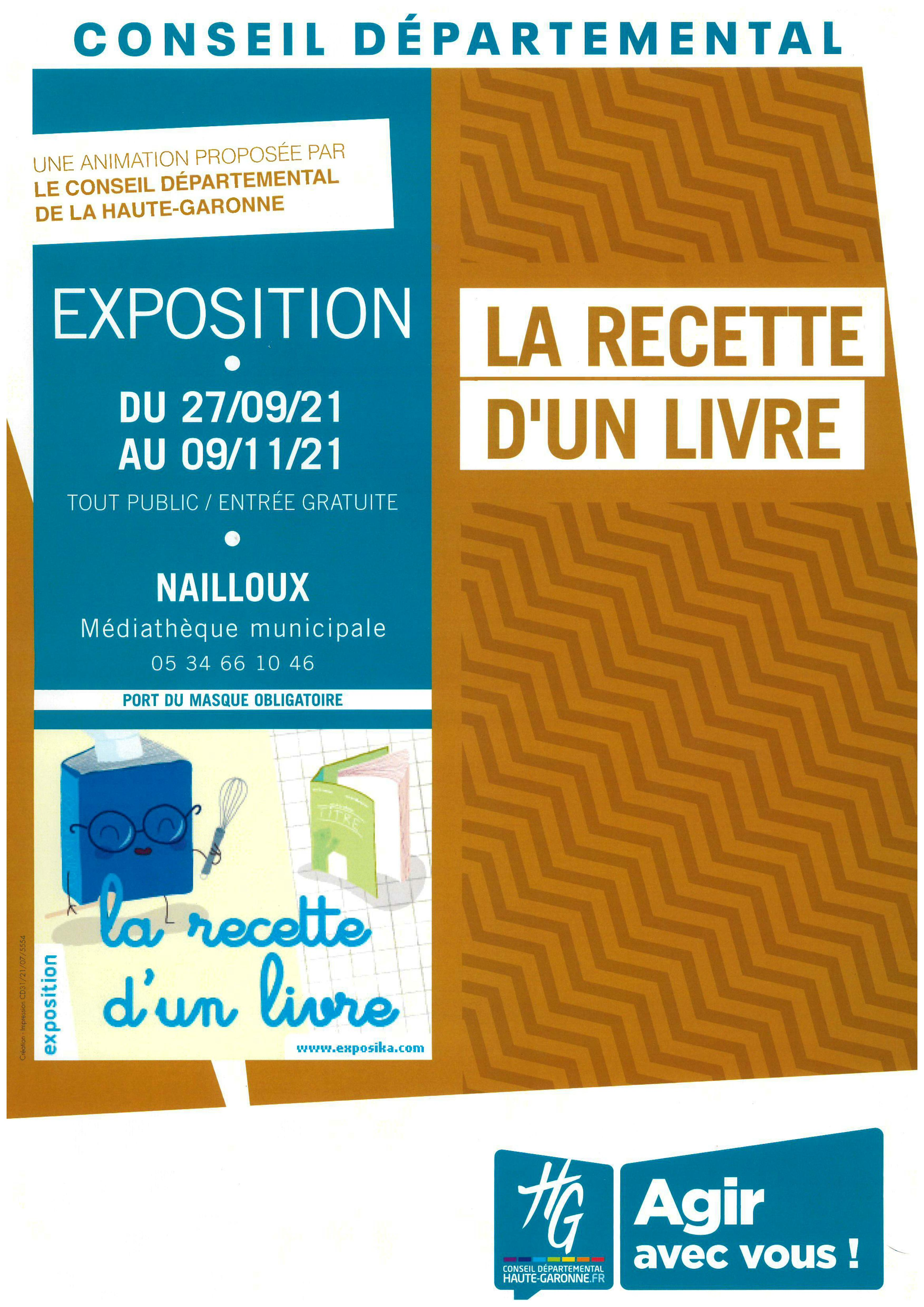 Recette d'un Livre - Médiathèque Départementale de la Haute-Garonne